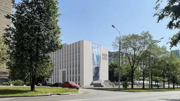 Проект Центра биогеохимических и информационных технологий при Институте океанологии РАН на Нахимовском проспекте в Москве