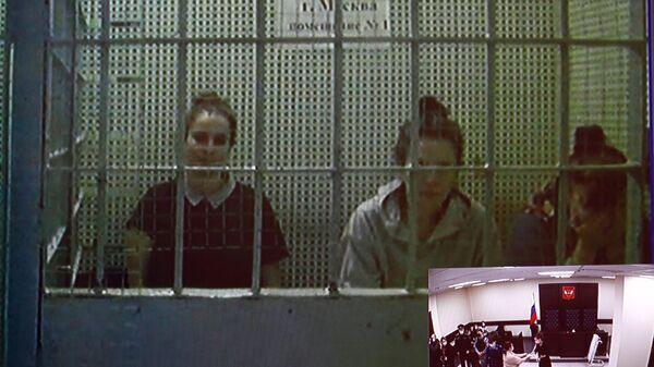 Трансляция заседания Первого апелляционного суда общей юрисдикции, где рассматривается жалоба на арест калининградских врачей Елены Белой и Элины Сушкевич, обвиняемых в смерти младенца