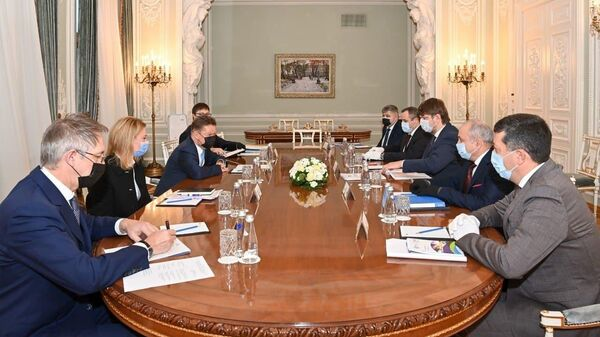 Встреча главы Газпрома Миллера с вице-премьером Молдавии Спыну по газу