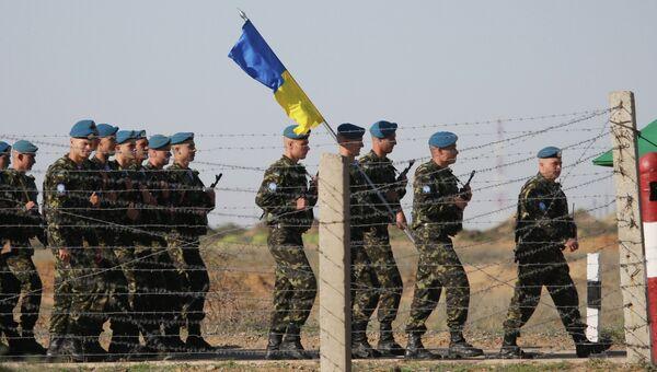 Украинские десантники, архивное фото