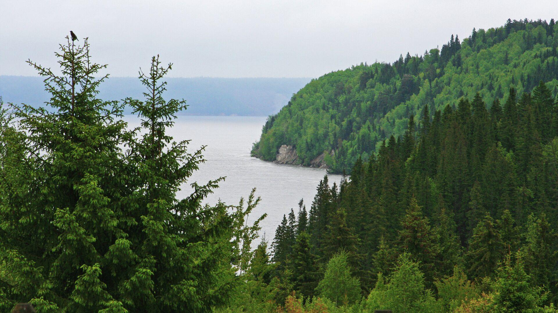 Вид на Камское водохранилище - РИА Новости, 1920, 27.09.2021