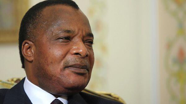 Президент Республики Конго Дени Сассу-Нгессо