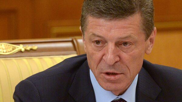 Заместитель председателя правительства РФ Дмитрий Козак. 24 марта 2014
