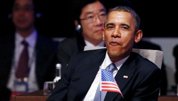 Американский президент Барак Обама. Архивное фото