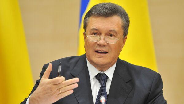 Отстраненный от должности президента Украины Виктор Янукович , Архивное фото