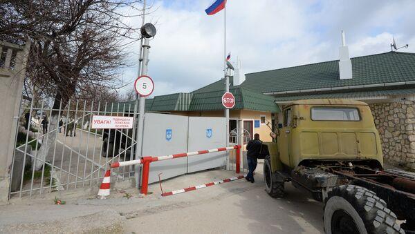 Воинская часть в Севастополе. Архивное фото