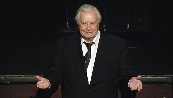Художественный руководитель театра на Таганке Юрий Любимов. Архивное фото