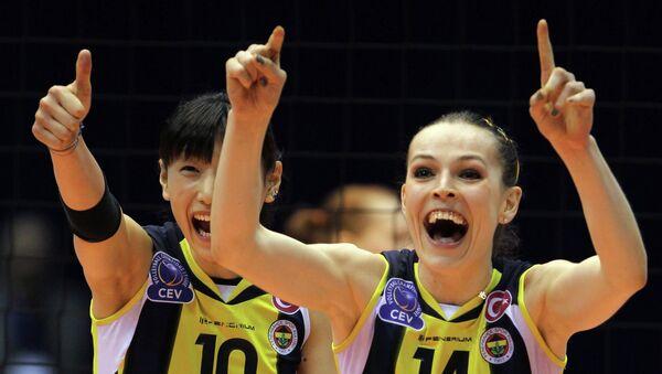 Волейболистки Фенербахче