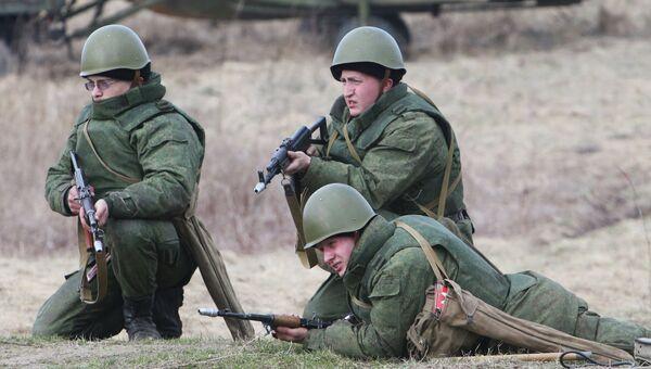 Учения береговых войск Балтийского флота в Калининградской области. Архивное фото