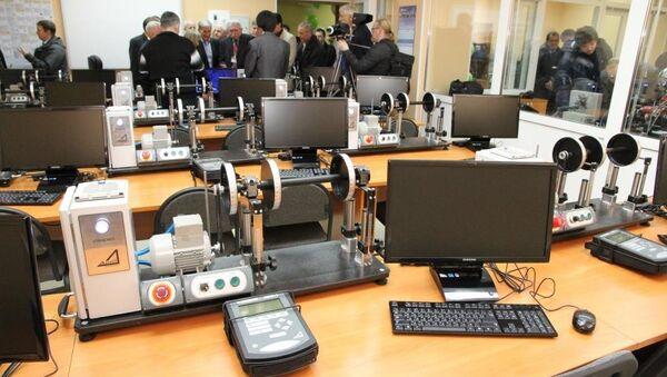 Первый за Уралом центр по вибродиагностике и балансировке в Томском политехническом университете (ТПУ), событийное фото