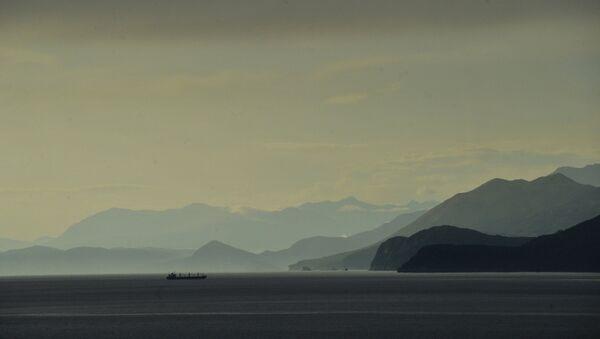 Вид на Адриатическое море. Черногория. Архивное фото