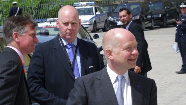Министр иностранных дел Великобритании Уильям Хейг. Архивное фото