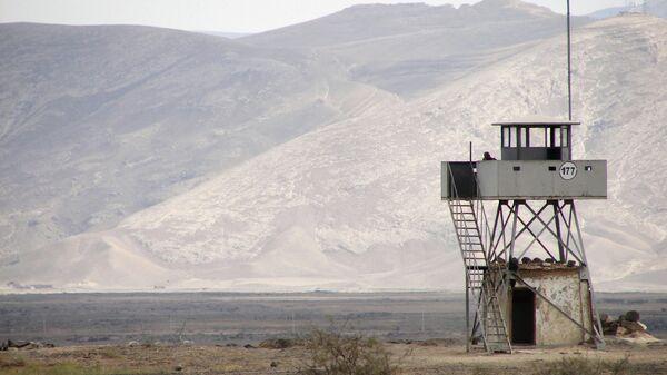 Смотровая вышка на границе с Ираном