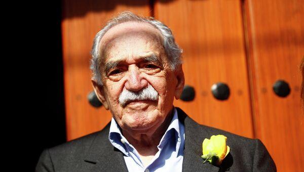 Колумбийский писатель Габриэль Гарсиа Маркес. Архивное фото