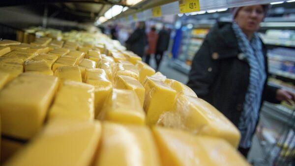 Продажа украинской молочной продукции в регионах России. Архивное фото