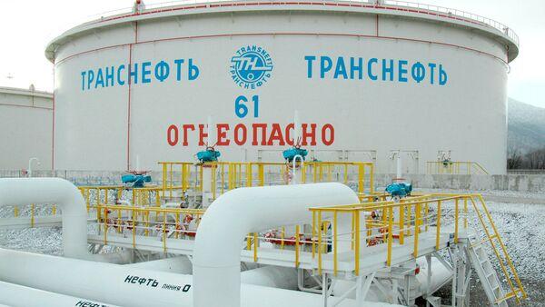 Резервуар одного из объектов компании Транснефть. Архивное фото