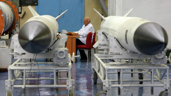 На предприятии Концерн ПВО Алмаз-Антей. Архивное фото