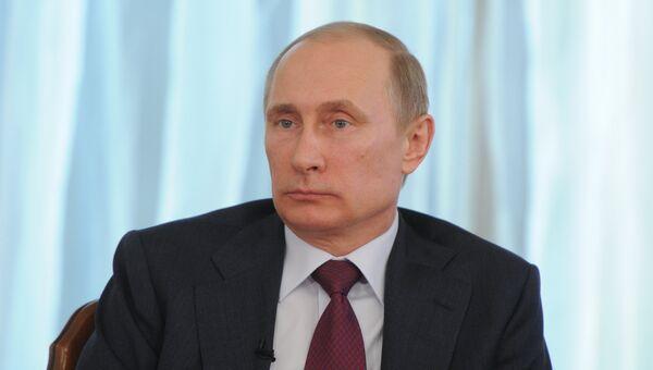 Президент России Владимир Путин, архивное фото
