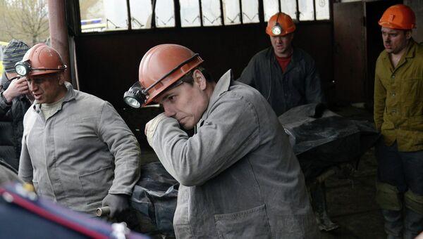 Авария на шахте имени Скочинского в Донецкой области