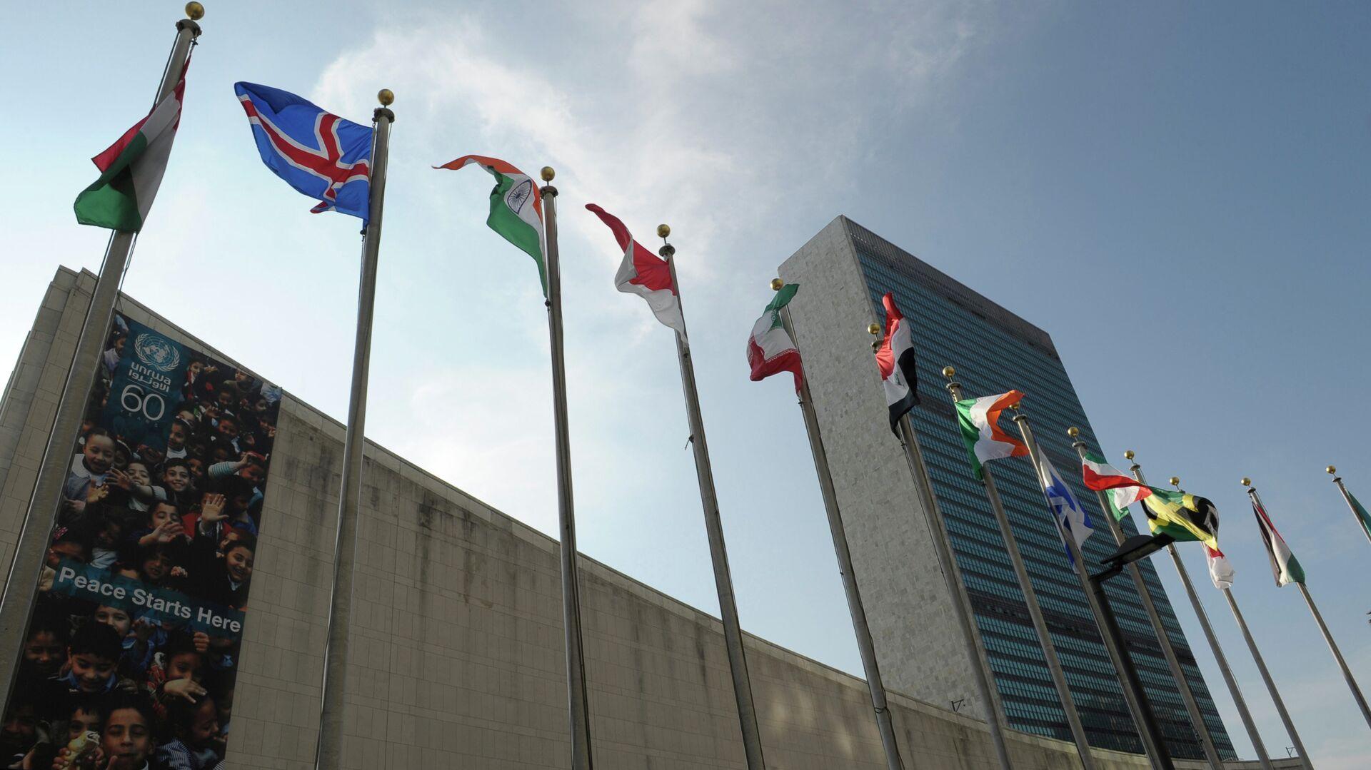Здание ООН в Нью-Йорке - РИА Новости, 1920, 12.10.2021
