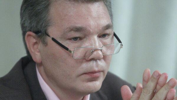 Первый заместитель председателя думского комитета по международным делам Леонид Калашников