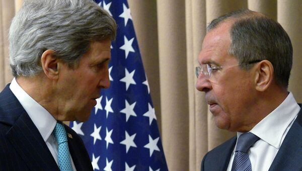 Встреча Сергея Лаврова и Джона Керри в Женеве, архивное фото