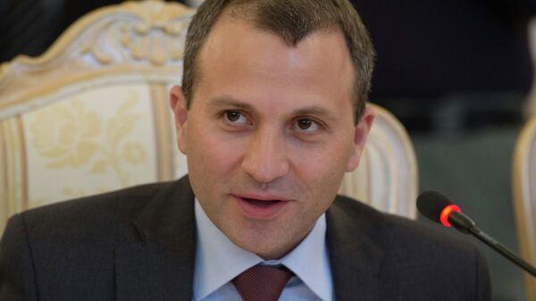 Глава МИД Ливана Джебран Бассиль