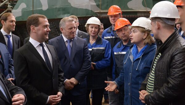 Рабочая поездка Д.Медведева в Дальневосточный федеральный округ. Третий день