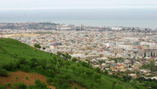 Вид города Дербент. Архивное фото