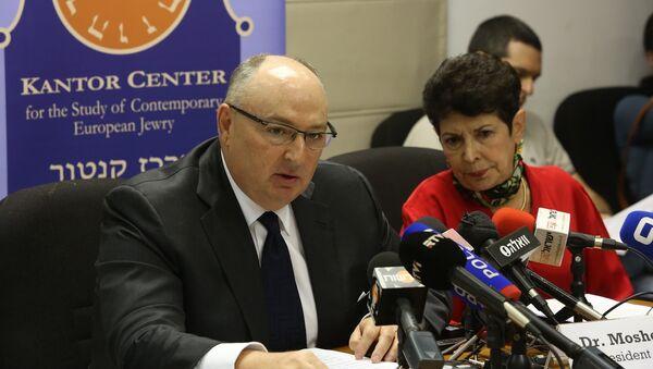 Председатель Европейского еврейского конгресса Вячеслав Кантор. Архивное фото
