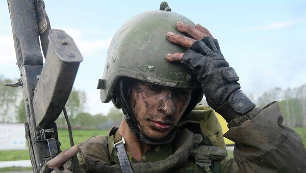 Военнослужащий подразделений специального назначения и разведки