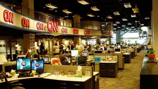 Работа телеканала CNN
