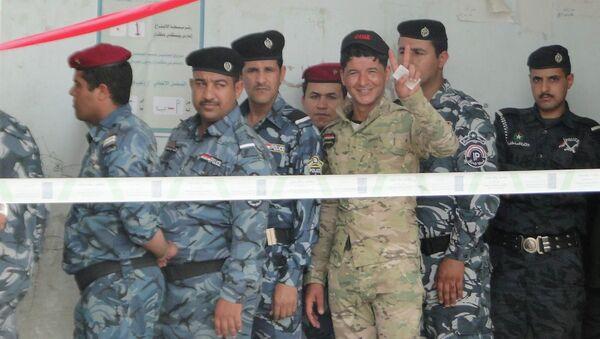 Иракские полицейские. Архивное фото
