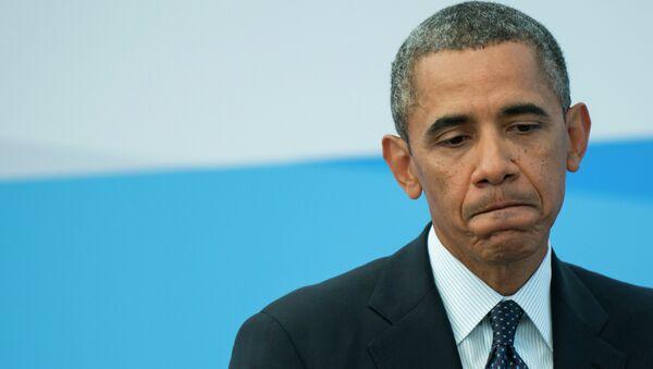 Президент Соединенных Штатов Америки (США) Барак Обама. Архивное фото.