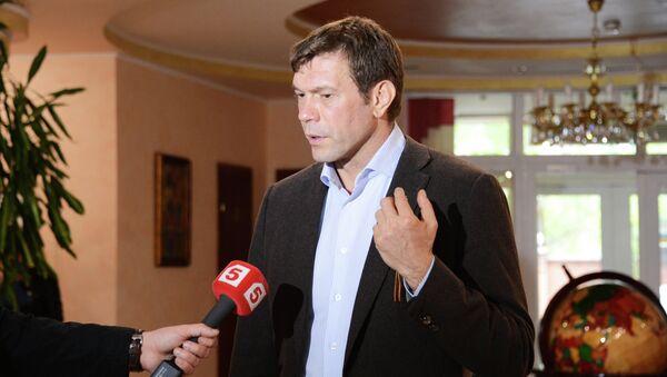 Лидер общественного движения Юго-Восток Олег Царев. Архивное фото