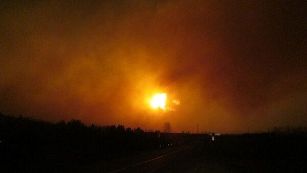 Взрывы боеприпасов в Карымском районе Забайкальского края