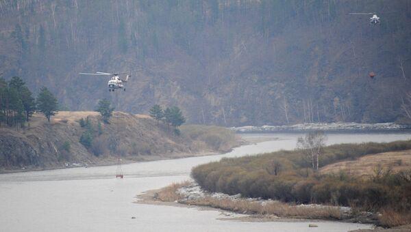 Ликвидация последствий пожара в воинской части в Забайкальском крае