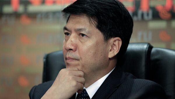 Посол Китайской Народной Республики в Российской Федерации Ли Хуэй. Архивное фото