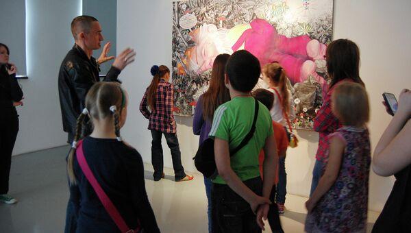Выставка The Hunt. Экскурсия и мастер-класс Александра Захарова