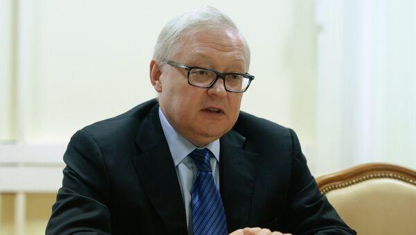 Заместитель главы МИД РФ Сергеем Рябковым. Архивное фото