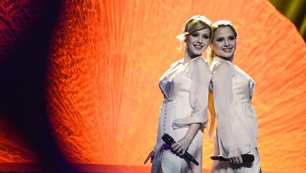 Певицы Мария и Анастасия Толмачевы