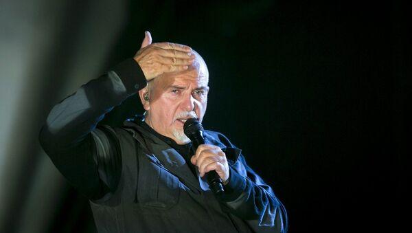 Британский музыкант Питер Гэбриэл