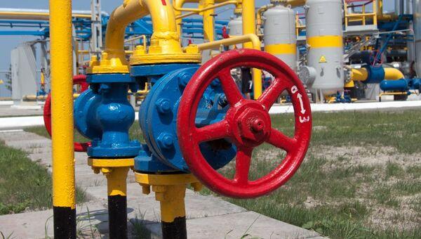 Дожимная компрессорная станции в Харьковской области, Украина. Архивное фото