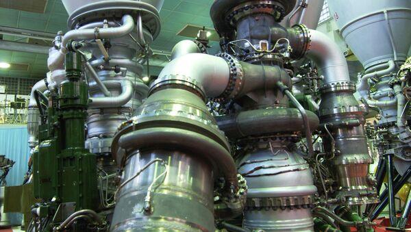 Ракетные двигатели НПО ЭНЕРГОМАШ. Архивное фото