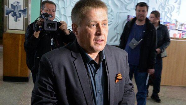 Народный мэр Славянска Вячеслав Пономарев, архивное фото