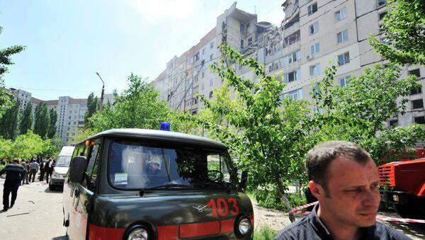 Взрыв в девятиэтажном доме в украинском Николаеве