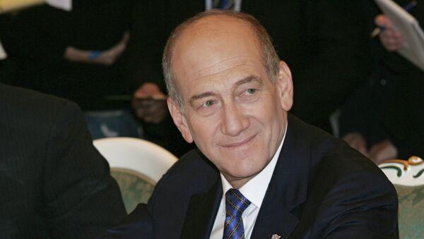 Экс-премьер Израиля Эхуд Ольмерт. Архивное фото