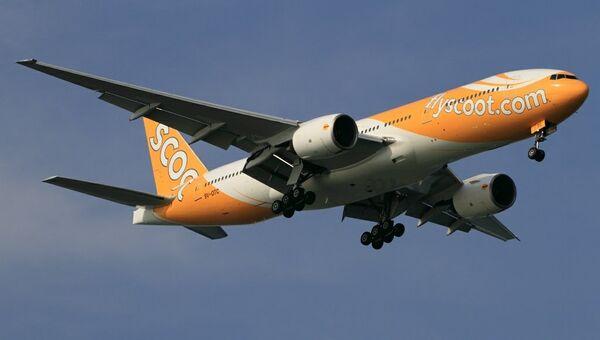 Самолет авиакомпании Scoot. Архивное фото
