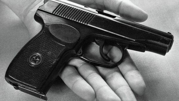 Пистолет Макарова. Архивное фото