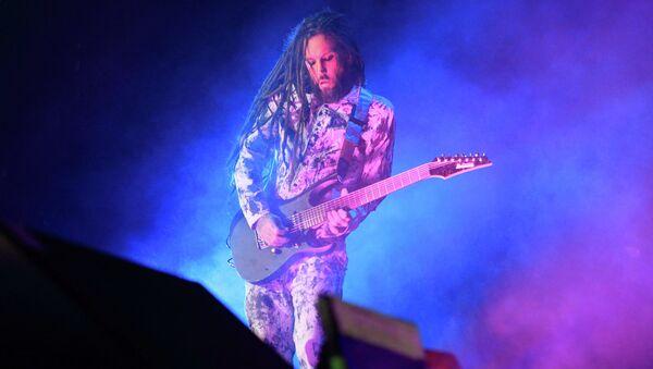 Гитарист группы Korn Брайан Уэлч. Архивное фото